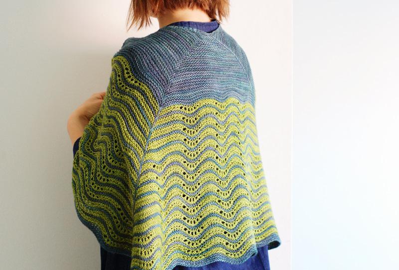 Sjal fra rain knitwear designs