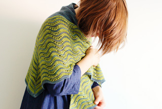 3-4 hap shawl knitting pattern