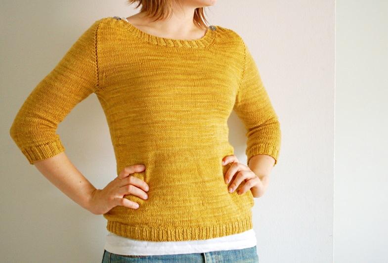 Knitting Patterns For Boat Neck Sweaters : buckwheat - rain knitwear designs - knitting patterns