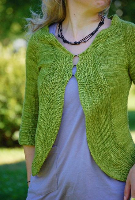 Cardigan fra rain knitwear designs