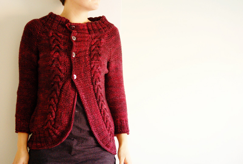 Modern Cardigan Knitting Patterns : hooray - rain knitwear designs - knitting patterns