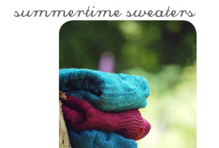 summertime sweaters knitting pattern book