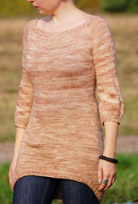 Tunika fra rain knitwear designs
